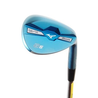 New Mizuno S5 Blue Ion Forged Wedge 56.14* Dynamic Gold Steel RH