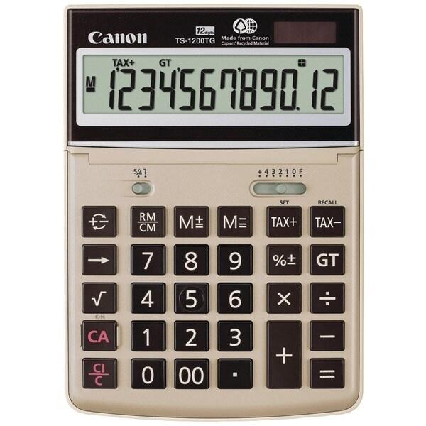 Canon 1072B008Aa 12-Digit Desktop Calculator