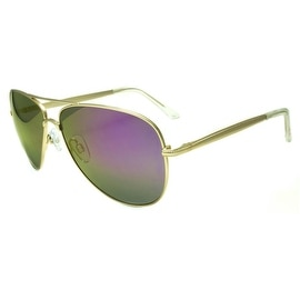 Brand New Classy Purple Shades Gold Frame On Sale