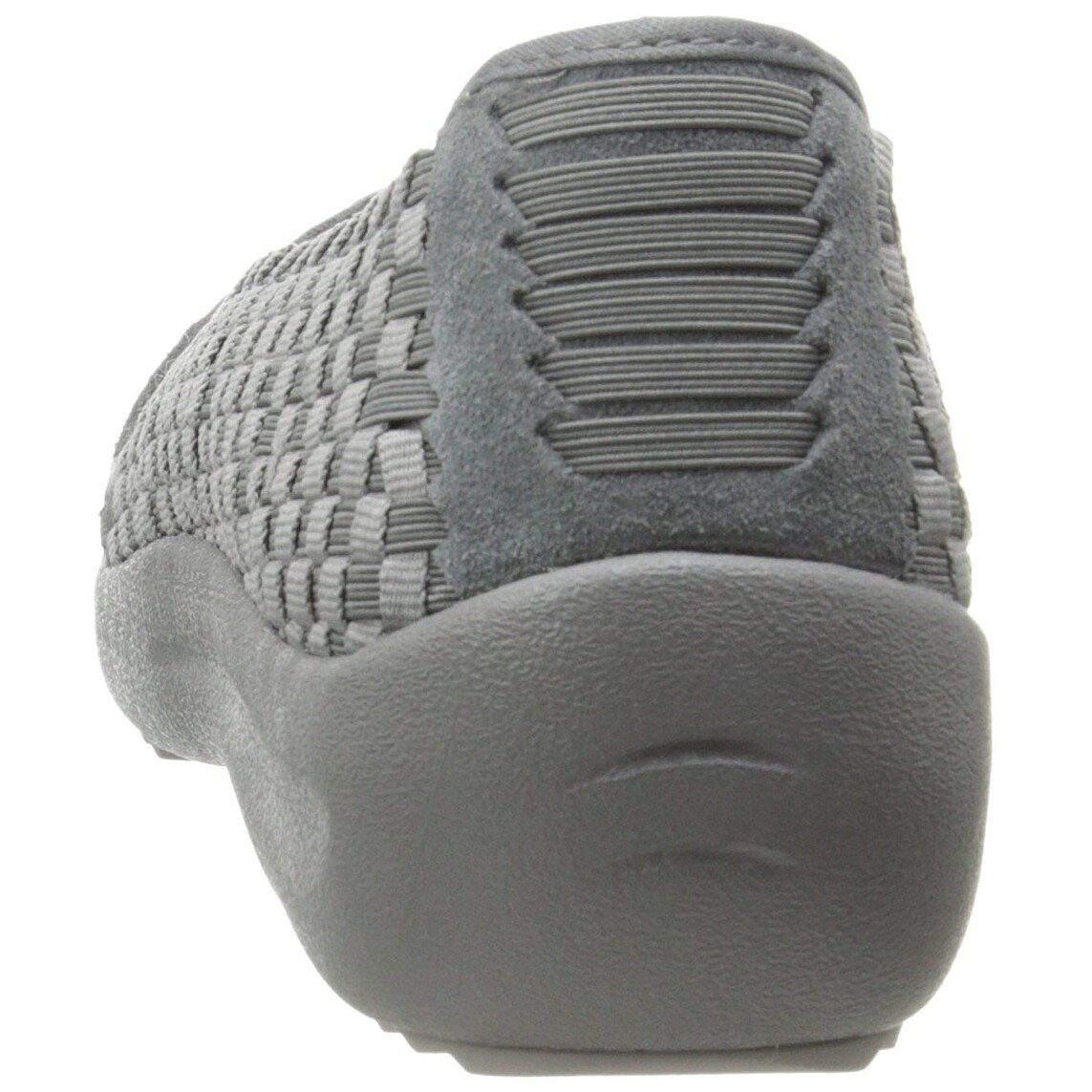 Skechers Women's Savor Just Weave It Walking Shoe,Charcoal,10 M Us