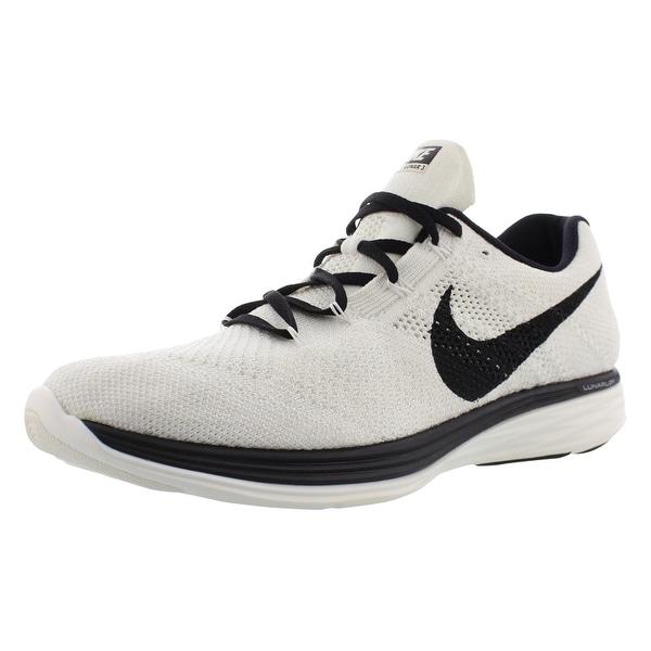 the latest 9ee65 36b5e Shop Nike Flyknit Lunar 3 Running Men's Shoes - 14 D(M) US ...