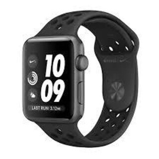 Apple Watch Nike Series 3 (GPS), 42mm Space Gray Aluminum Case with Anthracite/Black Nike Sport Band - Space Gray Aluminum