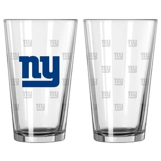 Link to New York Giants Satin Etch Pint Glass Set Similar Items in Fan Shop