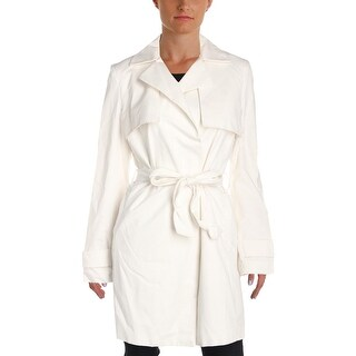 T Tahari Womens Milly Trench Jacket Fall Lightweight
