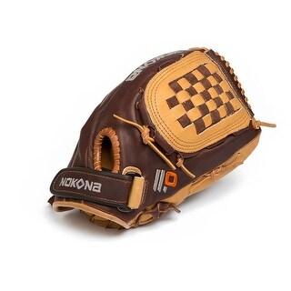Nokona Alpha Select 12-Inch Leather Baseball Fastpitch Glove Closed Web SV17/L
