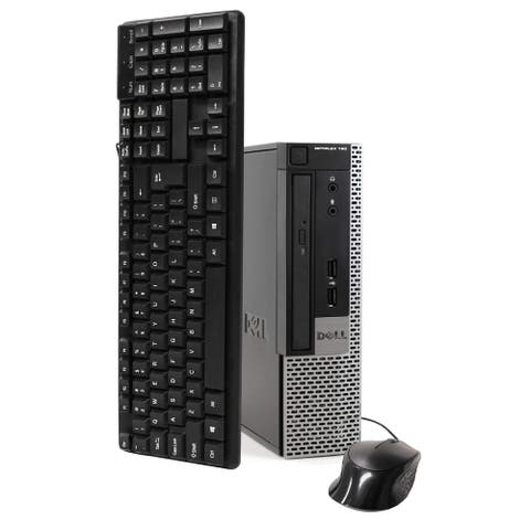 Dell 790 Intel i5 16GB 240GB SSD Windows 10 Home WiFi Ultra Small Form Factor - Black