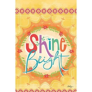 Wells Street by Lang Shine Bright Mini Garden Flag by LoriLynn Simms, 12 x 18 inches (6190001)