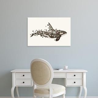 Easy Art Prints Terry Fan's 'Fractured Killer Whale' Premium Canvas Art