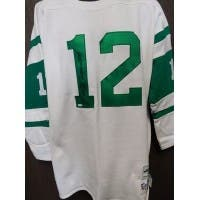 Signed Namath Joe New York Jets Super Bowl III Throwback Sweater Jersey size XL autographed