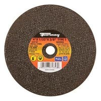 "Forney Industries 71856 Steel Panel Cut Off Wheel 4"" x 1/32"" x 3/8"""