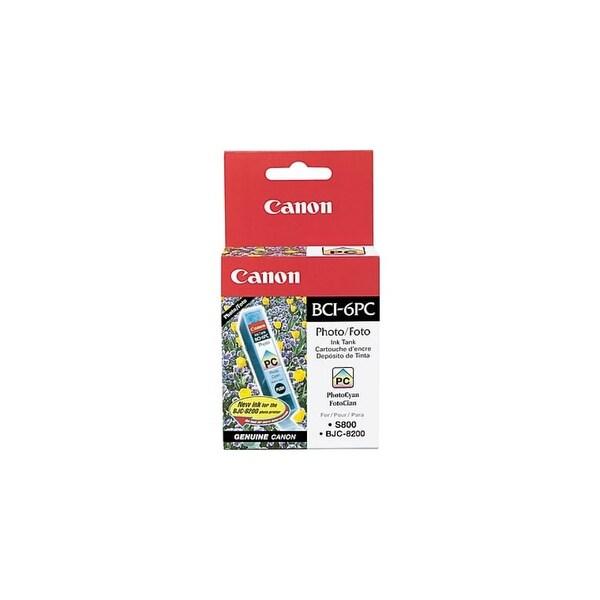 Canon BCI-6PC Ink Cartridge - Photo Cyan Canon BCI-6PC Ink Cartridge - Photo Cyan