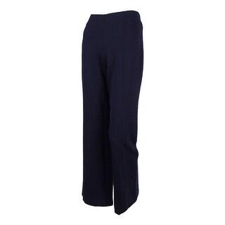 INC International Concepts Women's  Ponte Boot Leg Pants