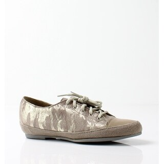 Munro NEW Beige Women's Shoes Size 7SS Petra Camo Suede Sneaker