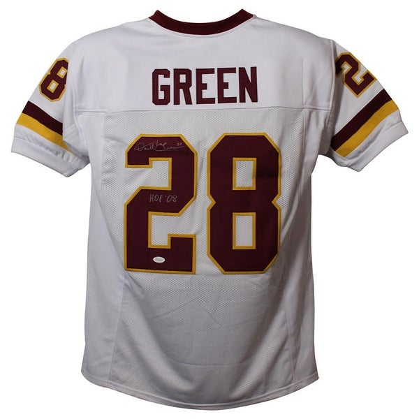 Shop Darrell Green Autographed Washington Redskins XL White Jersey  free shipping