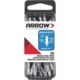 Arrow 1/8X1/4 Stl Rivet