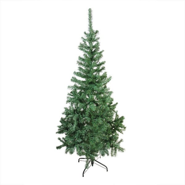 "6' x 31"" Mixed Green Pine Medium Artificial Christmas Tree - Unlit"