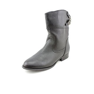 Chinese Laundry Face Off Round Toe Leather Ankle Boot