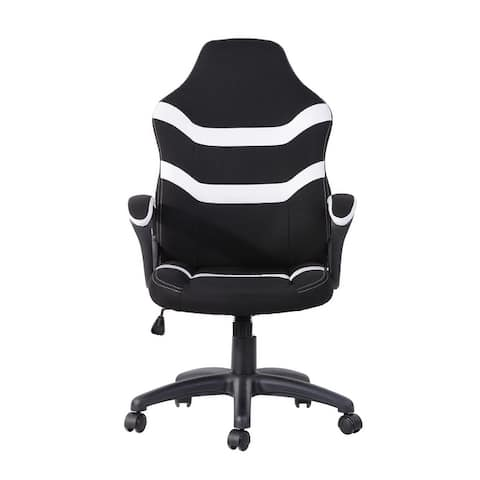 Ergonomic Height-Adjustable Office Gaming Chair with Breathable Fabric for Office