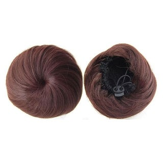 Bridal Hair Pack Bun Simple Siput Wig   33