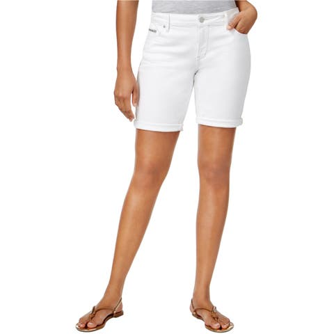 Calvin Klein Womens City Casual Bermuda Shorts - 28