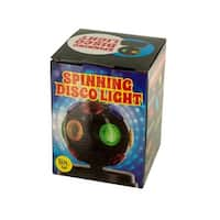 Mini Spinning Disco Party Light - Pack of 2
