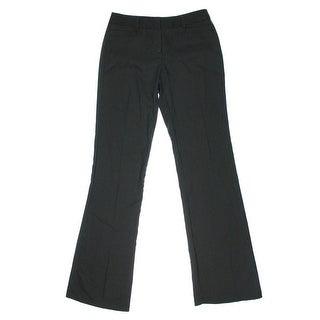XOXO Womens Juniors Pinstripe Flat Front Dress Pants - 7/8