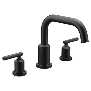Moen T961  Gibson Widespread Deck Mounted Roman Tub Filler Trim with Two Handles