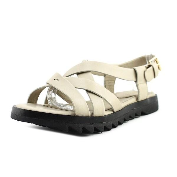 Bussola Berna Doeskin/Black Sandals