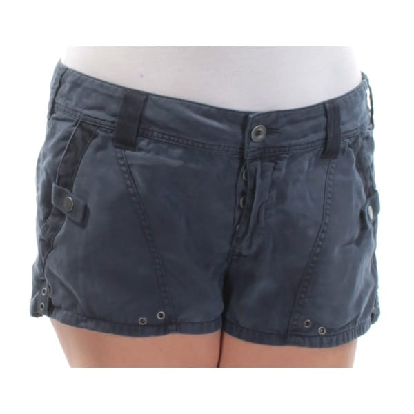 ac08e11d1f31 Shop FREE PEOPLE Womens Blue Cropped Short Size: 12 - On Sale - Free  Shipping On Orders Over $45 - Overstock - 21264333