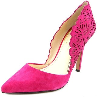 Jessica Simpson Cassel Pointed Toe Suede Heels