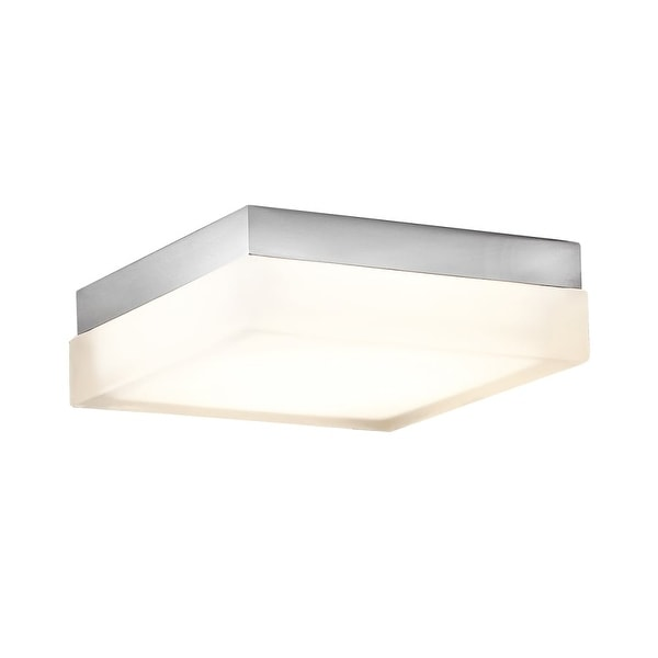 "Modern Forms FM-2009-30 Matrix Convertible 1-Light 9"" Wide LED Flush Mount Ceiling Fixture / Wall Sconce - 9"" Wide"