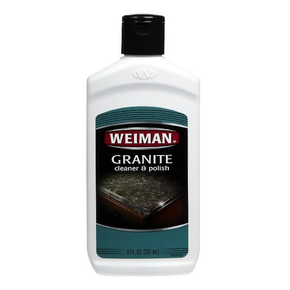 Weiman 9 Granite Cleaner & Polish, 8 Oz