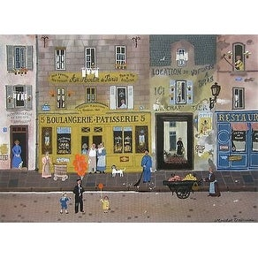Au Moulin de Paris, Limited Edition, Lithograph, Michel Delacroix