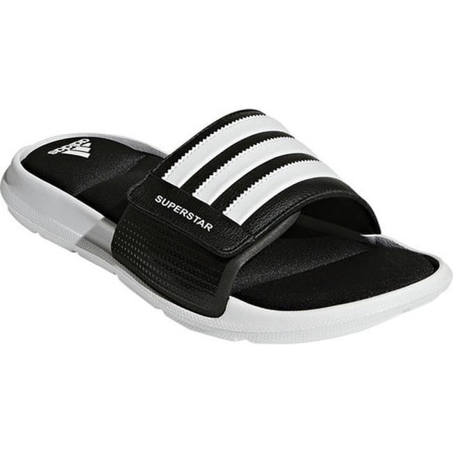 release date fb8e6 1297e adidas Men's Superstar 5G Slide Sandal Black/White/Black