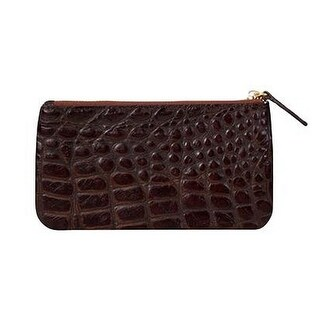 Scully Western Wallet Womens Coin Purse Croco Print Leather 5020 - One size
