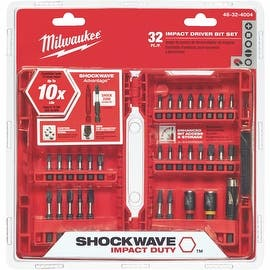 Milwaukee 32Pc Impact Bit Set|https://ak1.ostkcdn.com/images/products/is/images/direct/4915c7fcae58bf89fe798f060bbd196d659b7858/Milwaukee-32Pc-Impact-Bit-Set.jpg?impolicy=medium