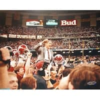 Gene Stallings signed Alabama Crimson Tide 8X10 Photo Steiner Hologram