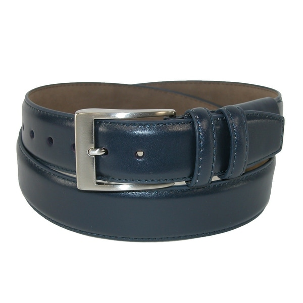 PGA TOUR Men's Hidden Stretch Basic Leather Dress Belt
