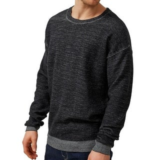 SELECTED HOMME NEW Heather Black Mens Size XL Pullover Crewneck Sweater