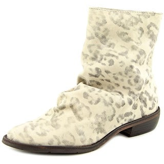 Matisse Westside Round Toe Leather Ankle Boot