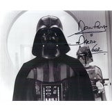 Signed Prowse David Star Wars 8x10 Photo Inscribed Darth Vader autographed
