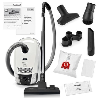 miele compact c2 quartz canister vacuum cleaner sbd2853 combination rug and floor tool - Panasonic Canister Vacuum