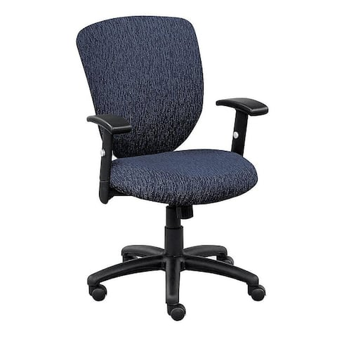 "Copper Grove Shete Memory Foam Fabric-upholstered Office Chair - 24"" x 26"" x 36-40"""