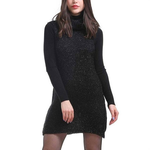 Mad Style Cowl Neck Tunic Dress