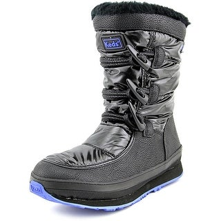 Keds Powder Puff Women  Round Toe Synthetic Black Winter Boot