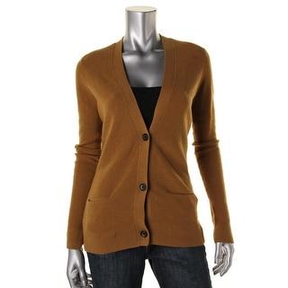 ALC Womens Merino Wool Button Front Cardigan Sweater - XS