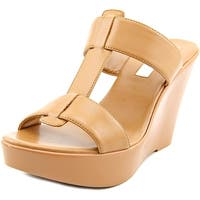 INC International Concepts Paciee   Open Toe Synthetic  Wedge Sandal