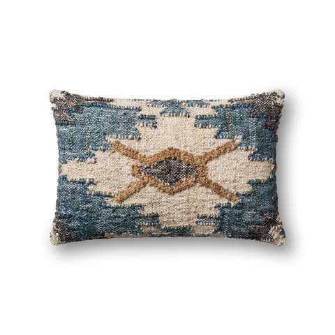 Alexander Home Boho Textured Rustic Throw Pillow
