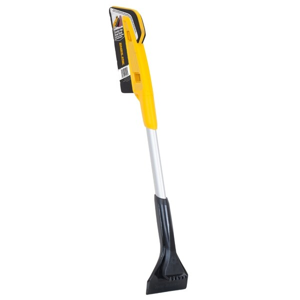 """True Temper ABTT2812 Scratch-Free Snow Brush with End Scraper, 28"""""""