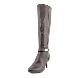 Alfani Jemsey Pointed Toe Synthetic Knee High Boot